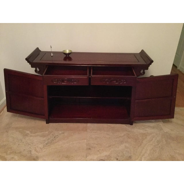 Solid Rosewood Sideboard - Image 4 of 5
