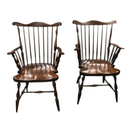 1950s Vintage Harden Furniture Chairs - A Pair For Sale