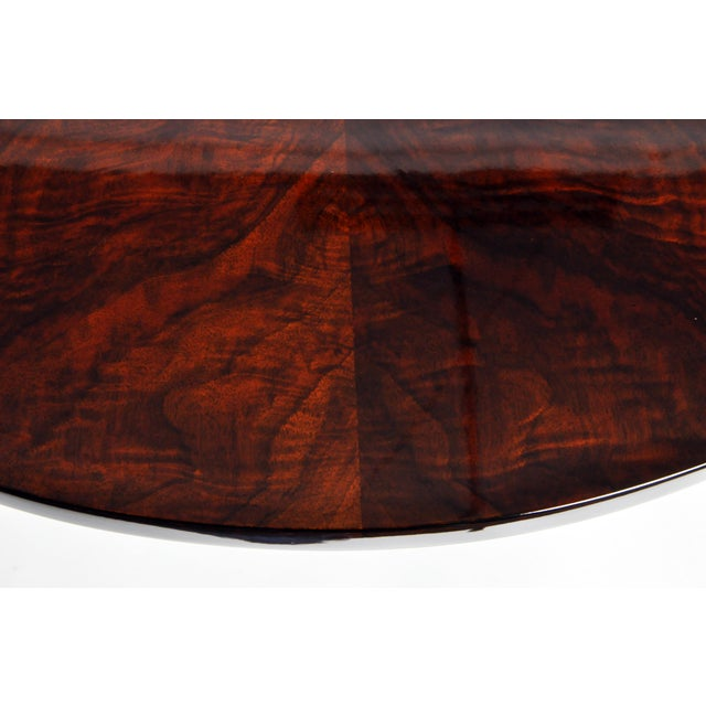 Art Deco Style Round Table For Sale In Chicago - Image 6 of 11