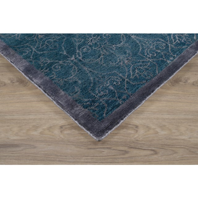 Stark Studio Rugs Contemporary New Oriental Rug - 6 x 9, 60% Wool/40% Bamboo Silk Rug To care for your rug, it's best to...