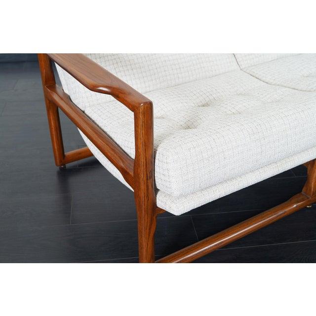 "Danish Modern Mid Century ""Cube"" Sofa by Milo Baughman For Sale - Image 3 of 9"