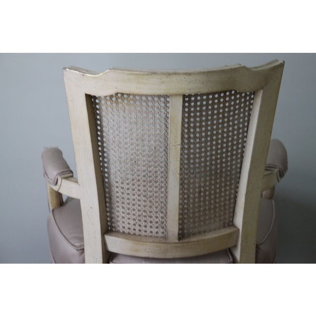 Antique French Caned Chair - Image 8 of 8