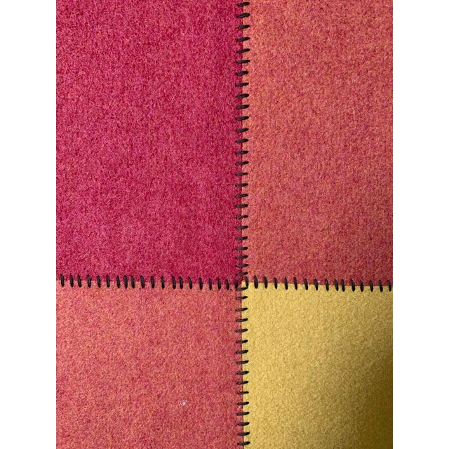 Contemporary Paolo Lenti Felt Rug - 4′5″ × 5′11″ For Sale - Image 4 of 6