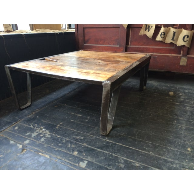 Industrial Pallet Table - Image 7 of 7