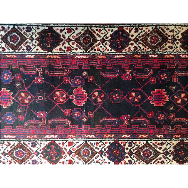 If you are looking for an attractive good condition vintage Persian runner with traditional color combination with blue...