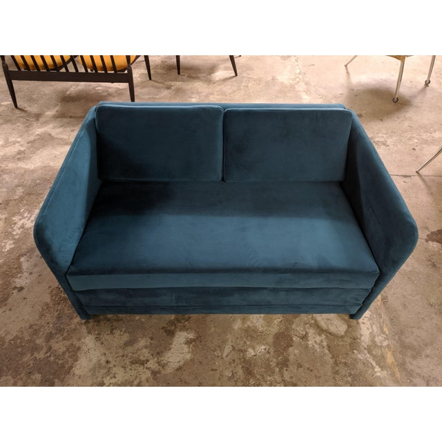 Great little sofa. very comfy 53W 35D 29H