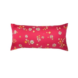 """Flower Power"" Hermès Silk Scarf Pillow For Sale"