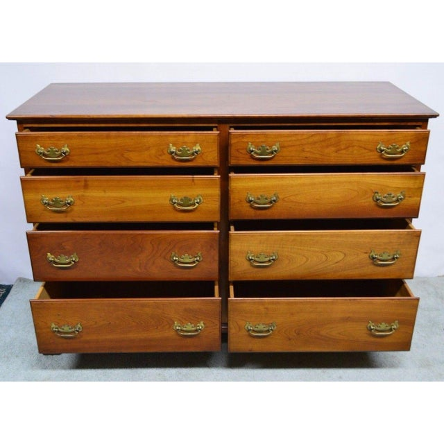 Stickley Syracuse Solid Cherry Dresser For Sale - Image 5 of 11
