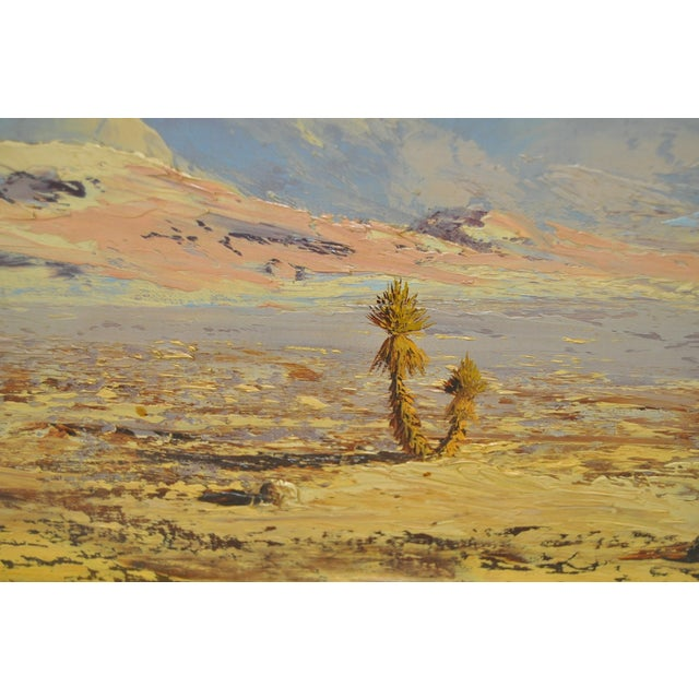 Thomas L. Lewis Taos New Mexico Landscape Painting - Image 4 of 6