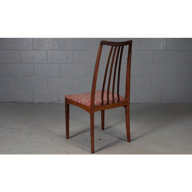 Rosewood Danish Rosewood High Back Dining Chairs- Set of 4 For Sale - Image 7 of 8