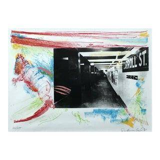 """""""Untitled"""" Lithograph by Julian Schnabel For Sale"""
