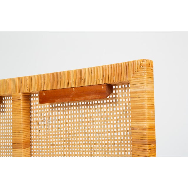 Single Woven Cane Twin Headboard by Danny Ho Fong for Tropi-Cal For Sale - Image 9 of 10