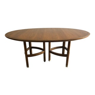 Michael Taylor for Baker Oval Dining Table For Sale