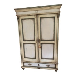 18th Century Shabby Chic Jelly Jar Cupboard For Sale