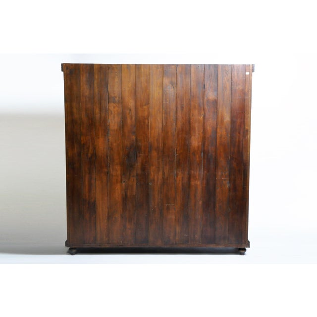 Art Deco Art Deco Cabinet With Five-Panel Folding Doors From Burma For Sale - Image 3 of 13