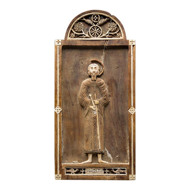 Coptic Votive Lmage of Saint Peter For Sale