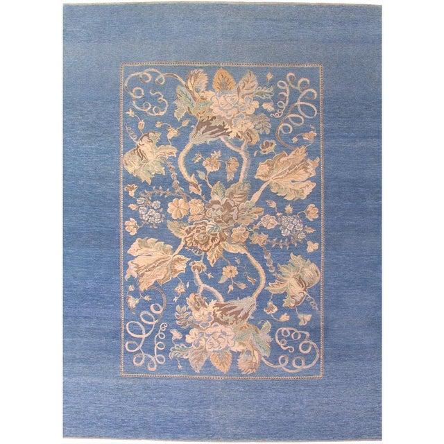 Art Nouveau Style Area Rug - 10' x 14' For Sale
