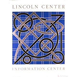 Valerie Jaudon, Lincoln Center Information Center, 1986, Serigraph For Sale