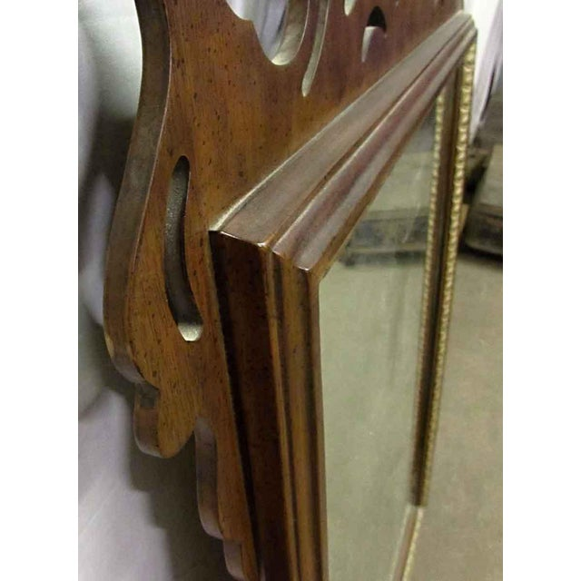 Gold Antique Decorative Wall Mirror For Sale - Image 8 of 8