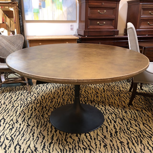 Design Plus Gallery presents the Powell Dining Table from Four Hands. The mixed materials make the table interesting. It...