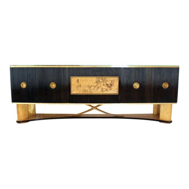 1940s Mid-Century Modern Osvaldo Borsani Extra Long Sideboard For Sale - Image 14 of 14
