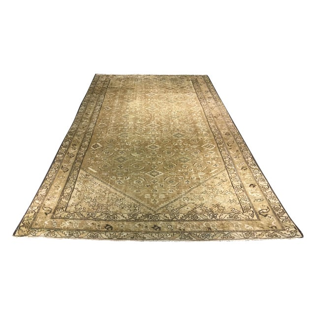 Antique Persian Malayer Runner Rug - 6′7″ × 9′10″ - Image 1 of 9