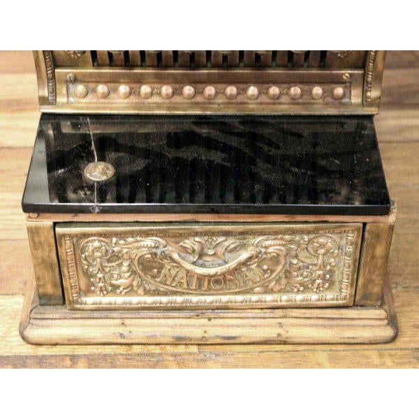 Antique Bronze Cash Register - Image 3 of 4