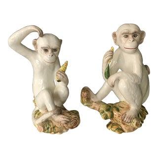 Vintage Italian Capuchin Monkeys - a Pair For Sale