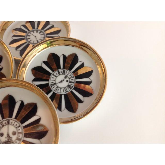 Shafford Porcelain Coasters - Set of 7 For Sale - Image 5 of 9