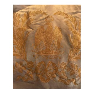 Napoleon Empire Historic Palais Beauharnais Curtains Personal Bed,1809 For Sale