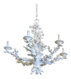Image of White Chandeliers