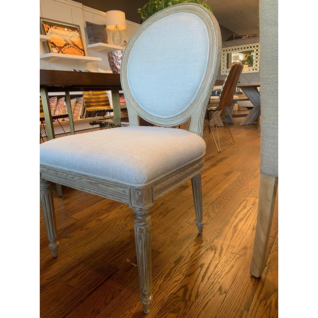 Traditional Modern Nichole Side Chair For Sale - Image 3 of 4