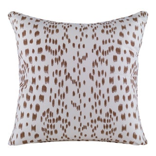 Curated Kravet Les Touches Pillow - Tan For Sale