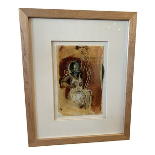 Curtis Contemporary Woman Figural Painting For Sale
