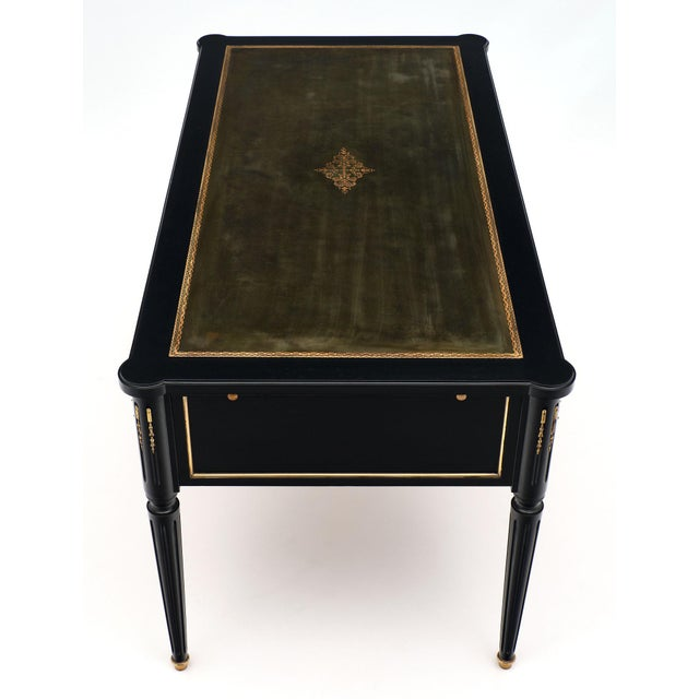 Late 19th Century Antique French Louis XVI Writing Desk For Sale - Image 5 of 12