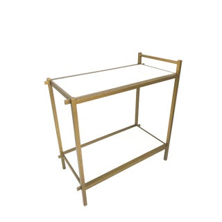 Chelsea House Gilt Gold Bar Cart For Sale