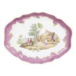19th Century Meissen Porcelain Tray