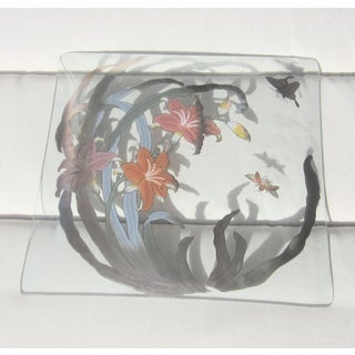 Mid Century 1960's Dorothy Thorpe Glass Platter Preview