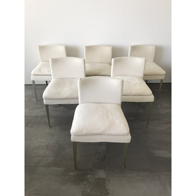 B&b Maxalto Eunice Dining Chairs - Set of 6 For Sale - Image 4 of 6