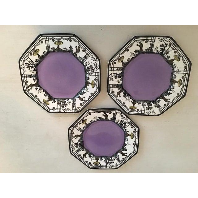 Vintage Wedgwood Stamped Imperial Porcelain Plates. DIAMETER: 8¼ in | HEIGHT: 8¼ in