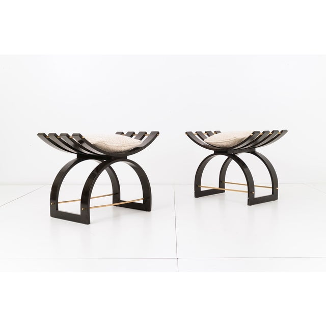 Pair of Harvey Probber Knights Benches - Image 3 of 10