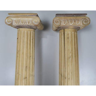 Pair of 19th C. Italian Neoclassical Style Columns Preview