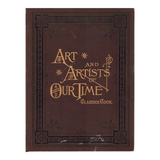 "1888 ""Art and Artists of Our Time: Vol. 1"" Coffee Table Book For Sale"