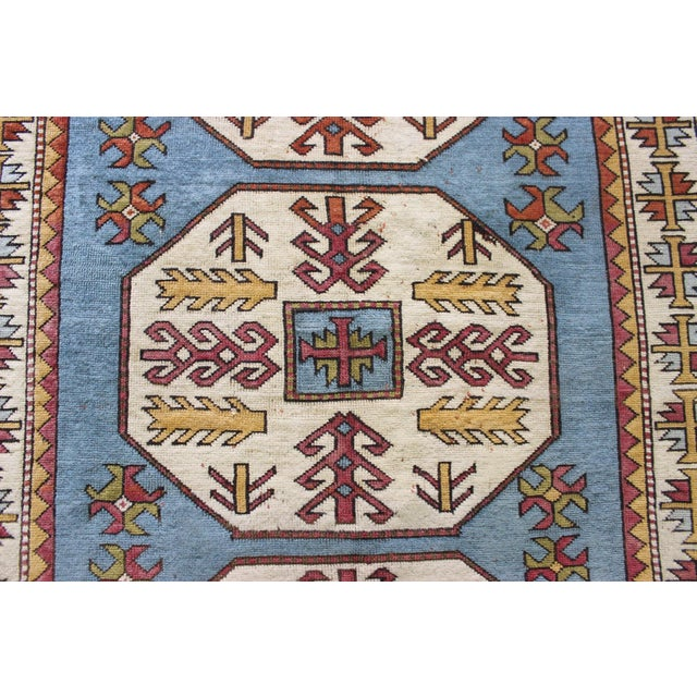 "Turkish Anatolian Area Rug - 5'2"" X 8'1"" - Image 3 of 7"