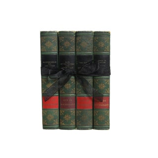 Vintage Book Gift Set: Guy De Maupassant For Sale