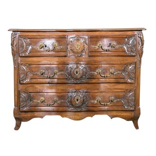18th Century Regency Period Lyonnaise Commode Galbée For Sale