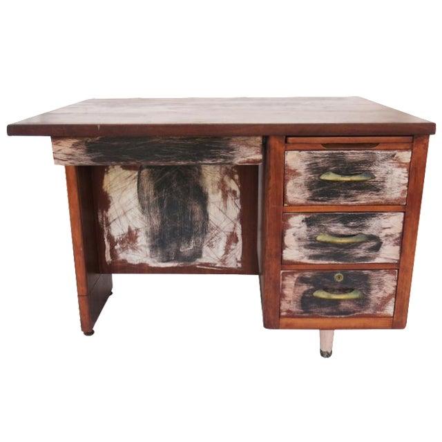 Winston Mid-Century Desk - Image 1 of 4