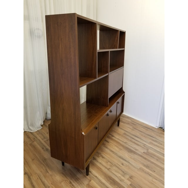 Mid-Century Modern 1960s Mid Century Bookcase For Sale - Image 3 of 13