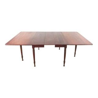 Vintage Drop Leaf Gate Leg Dining Table