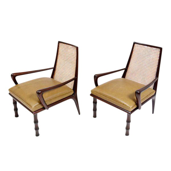 Mexican Modernist Lounge Chairs Attributed to Eugenio Escudero - Image 1 of 9